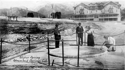 Postcards from the Past: Travel, Tourism & Scenic Places in Early Steamboat Springs
