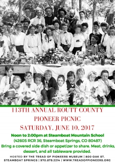 113th Annual Routt County Pioneer Picnic