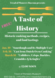 A Taste of History - Historic cooking methods, recipes, and food tastings.