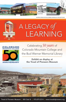 Tread of Pioneers Museum Introduces New Exhibit Honoring 50th Anniversary of Colorado Mountain College & Bud Werner Memorial Library