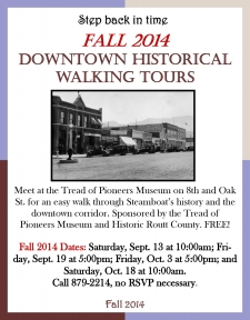 Downtown Historical Walking Tour - Fall 2014