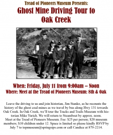 Oak Creek Ghost Mine Driving Tour