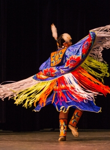 Virtual  Ute Indian Pow Wow Dance Performance and Presentation