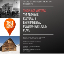 This Place Matters: The Economic, Cultural, and Environmental Power of Heritage and Place