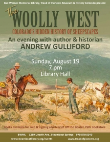 Author Andrew Gulliford: The Woolly West