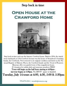 Open House at the Crawford Home