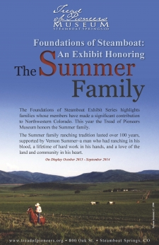 Foundations of Steamboat: The Summer Family:  October 2013 - September 2014