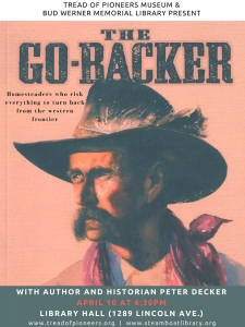 �The Go-Backer� with author and historian Peter Decker