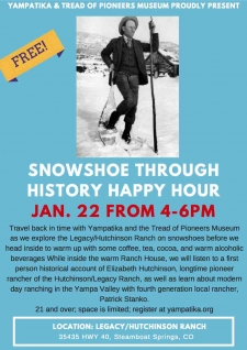 SNOWSHOE THROUGH HISTORY HAPPY HOUR